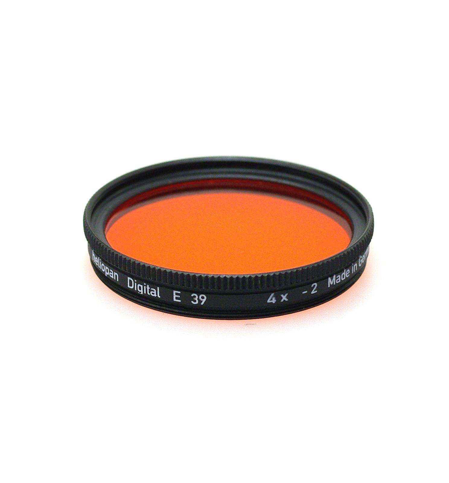 Heliopan orange 22 filter