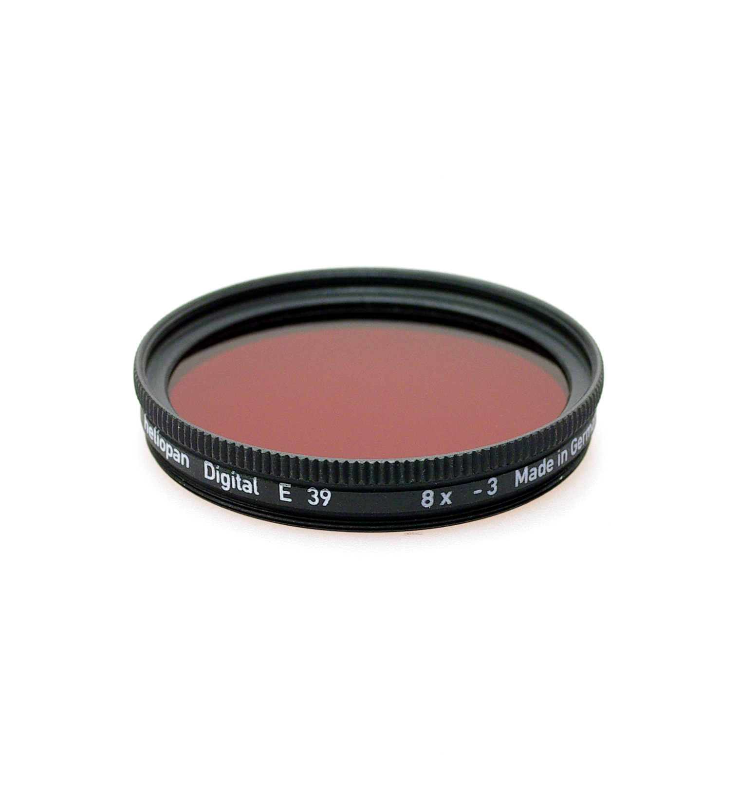 Heliopan sh-pmc multi coated red 29 filter, 39-95mm