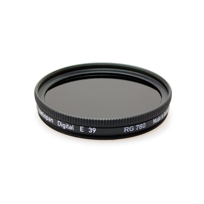 Heliopan rg780 (87) infrared filter, 37-105mm