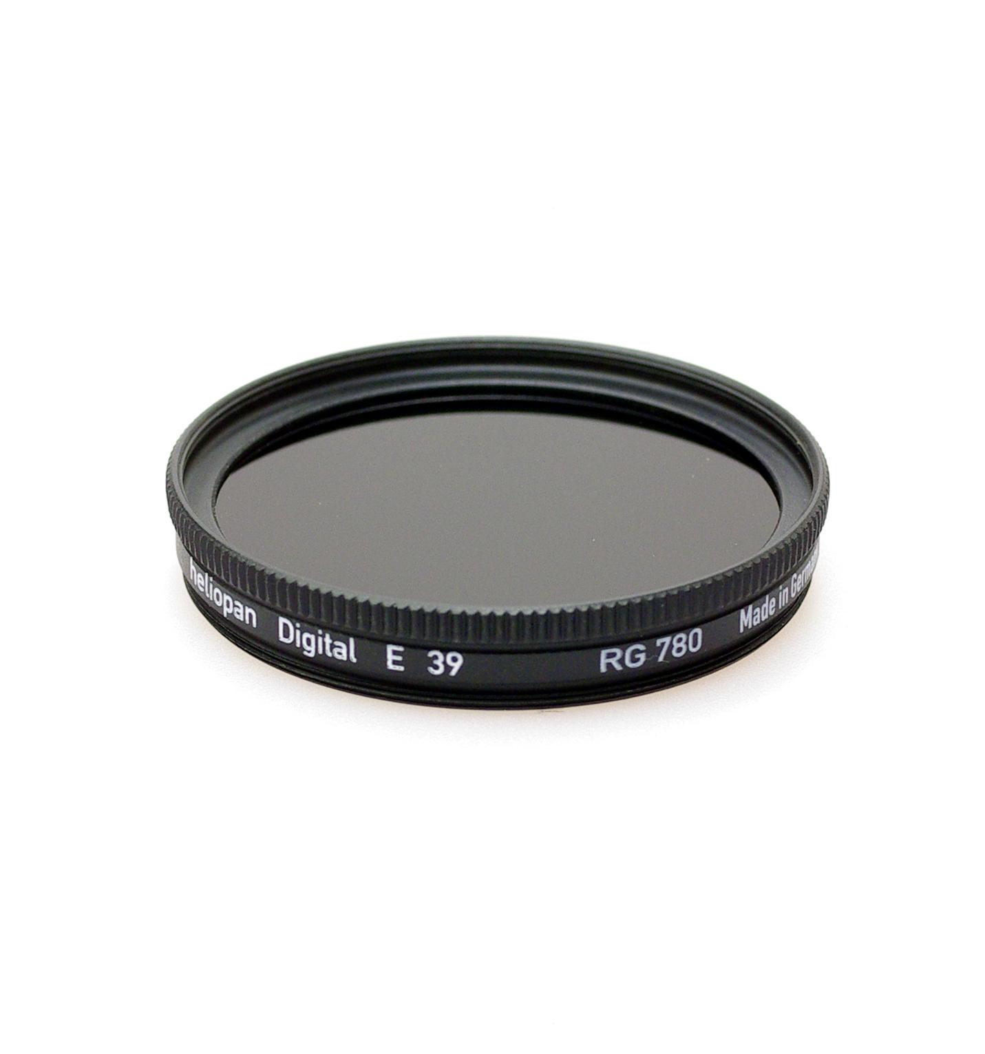 Heliopan rg780 (87) infrared filter, 37-105mm