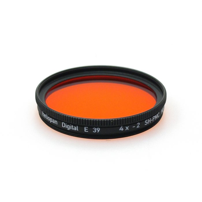 Heliopan sh-pmc multi coated orange 22 filter