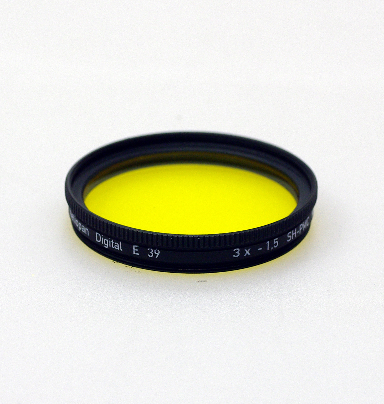 Heliopan sh-pmc multi coated yellow 12 filter, 39-105mm