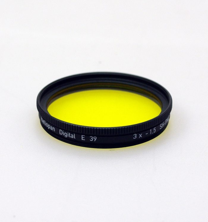 Heliopan sh-pmc multi coated yellow 8 filter