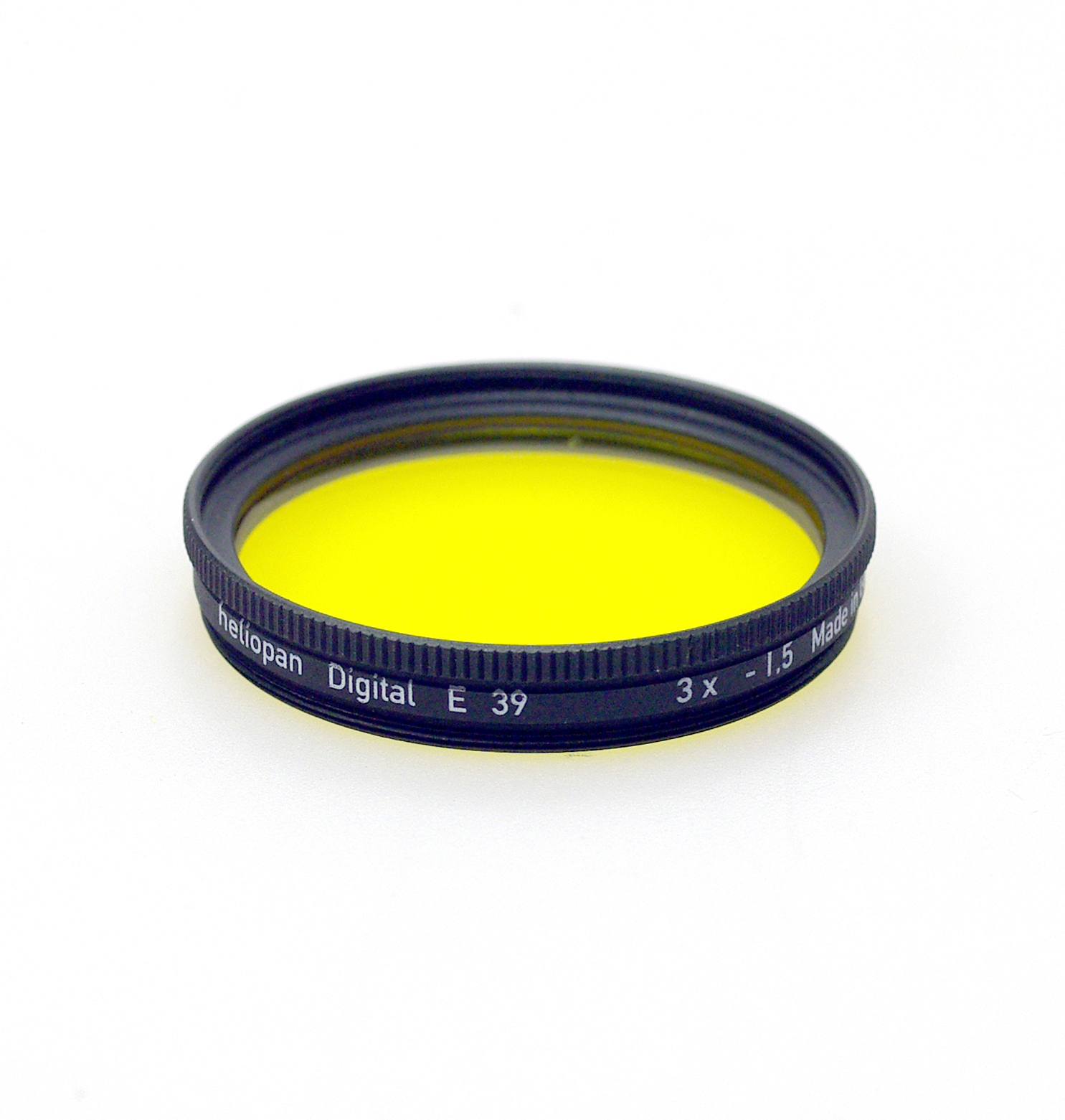 Heliopan 39mm yellow 12 filter