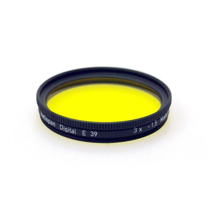 Heliopan yellow 8 filter
