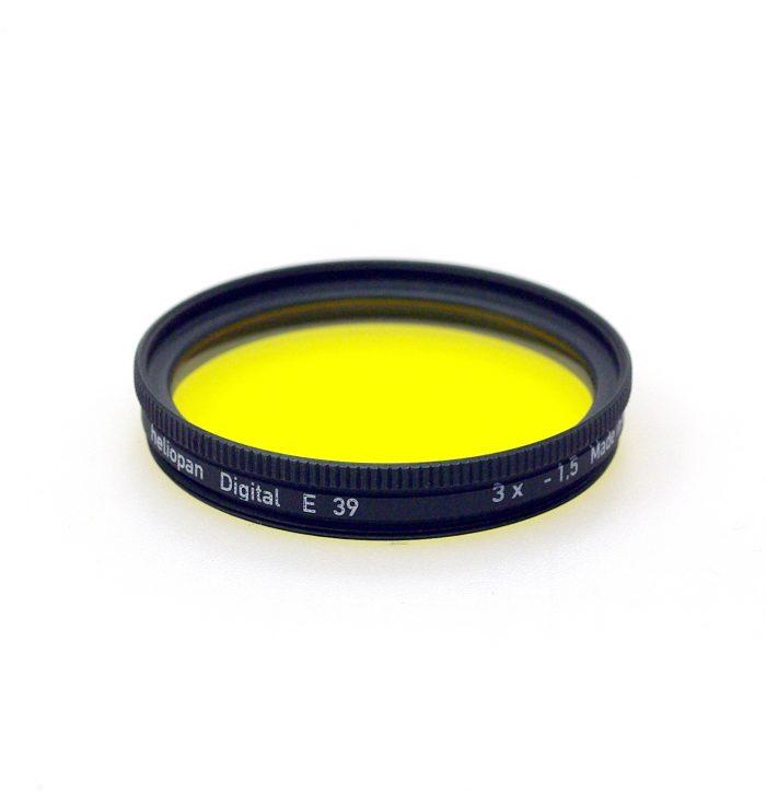 Heliopan yellow 8 filter