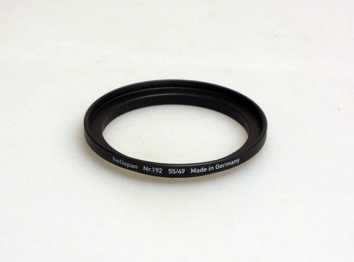 Heliopan adapter/stepping ring up to 55mm (filter)