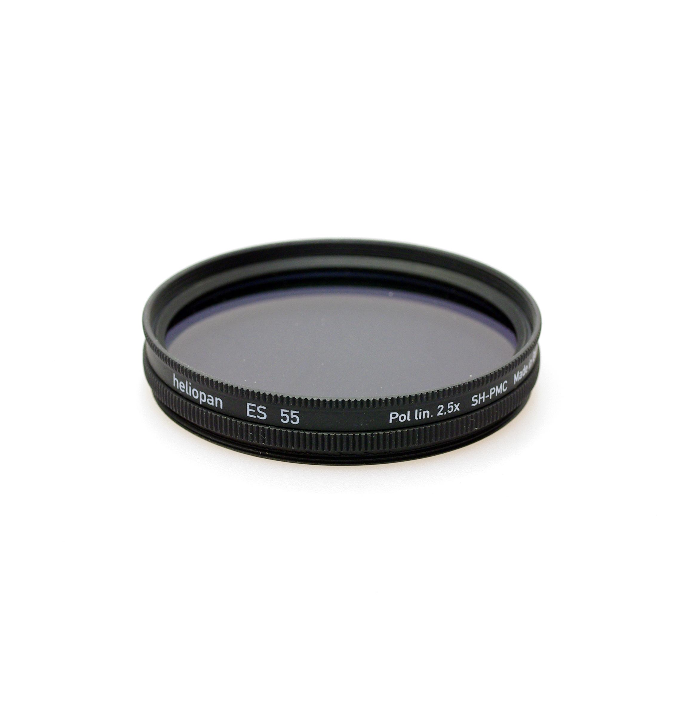 Heliopan sh-pmc (multi coated) linear polarising filter, 39-105mm
