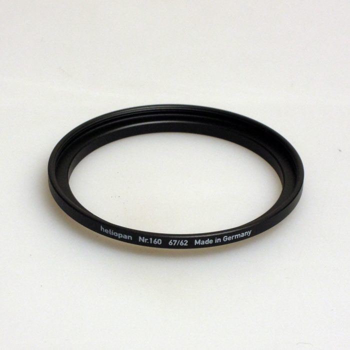 Heliopan adapter/stepping ring up to 67mm (filter)