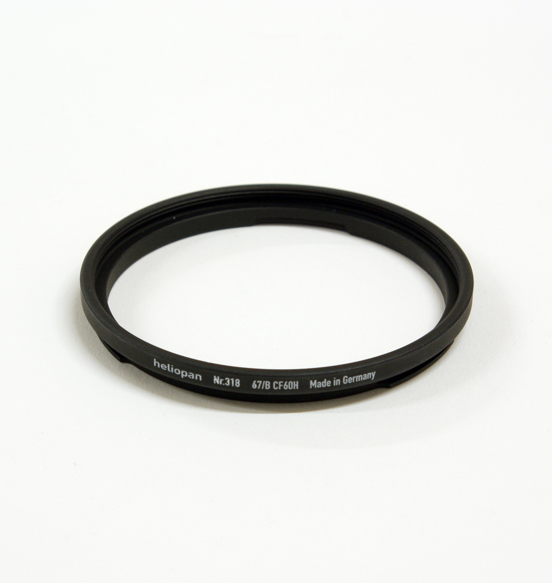 Heliopan adapter/stepping ring hasselblad bay60 to 67mm (filter)