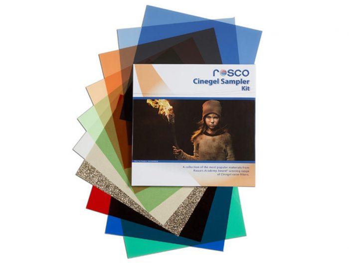 Rosco cinegel sampler photo filter kit. 30.48 x 30.48cm
