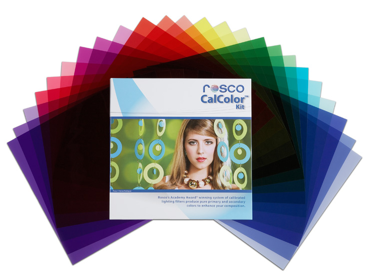 Rosco calcolor photo filter kit