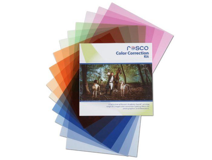 Rosco color correction photo filter kit. 30.48 x 30.48cm