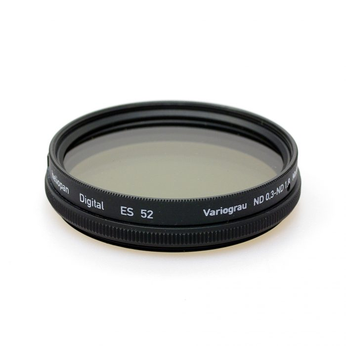 Heliopan variable nd (neutral density)filter, 46-82mm
