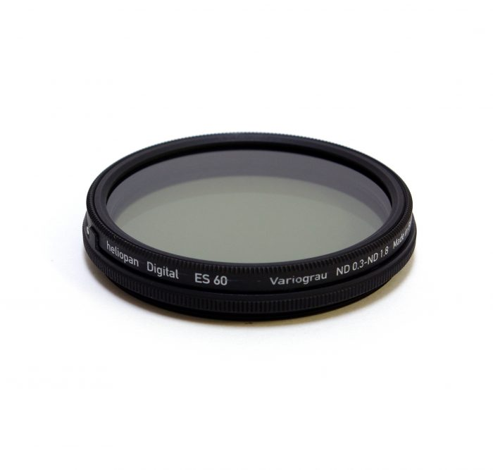 Heliopan variable nd (neutral density)filter, 46-82mm