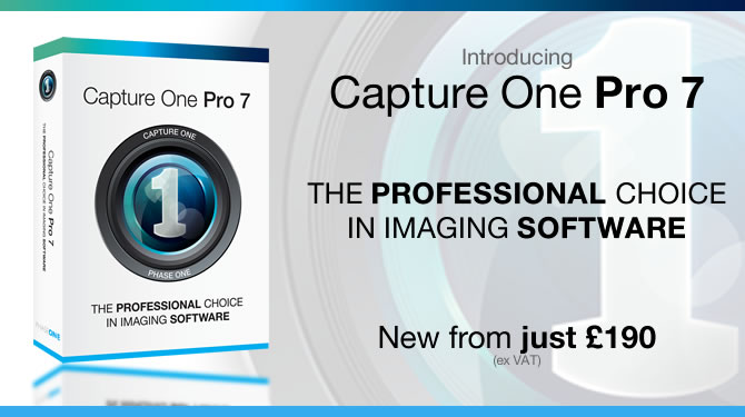 Capture One Pro 7 Available to buy now!