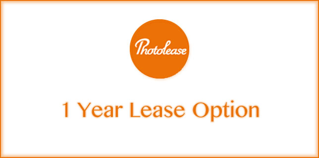 Photolease 1 Year Lease Option