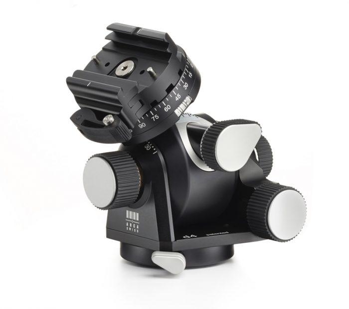 Arca swiss d4 geared tripod head with quickset fliplock device