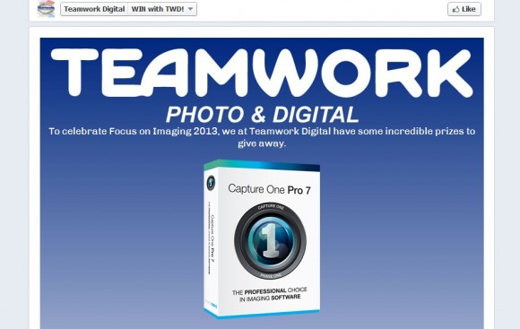 Teamwork Digital Focus on Imaging 2013 Competition!