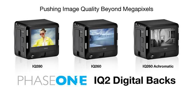 Phase One IQ2 Digital Backs
