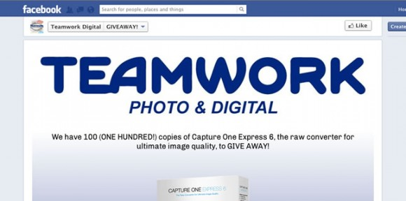 Capture One Express 6 Giveaway