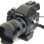 Used Contax 645AF cw 80mm,AE Prism,120 RFH,MP1 Batt Pack
