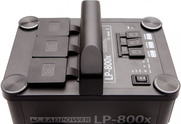 Godox LP-800X Lithium Ion Power Inverter Top View