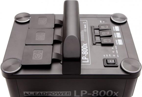 Godox LP-800X Lithium Ion Power Inverter Top View