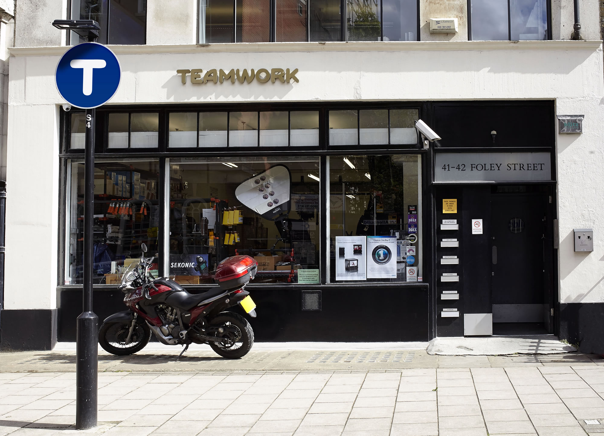 Teamwork Shop Front