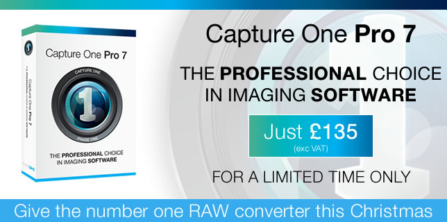 Capture One Pro 7 is just £135 for a limited time only from Teamwork Digital