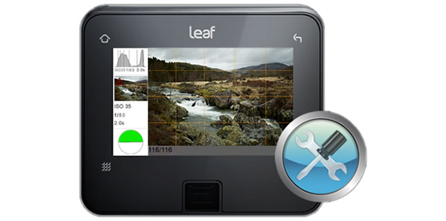 Leaf Credo Firmware 2.02 Update