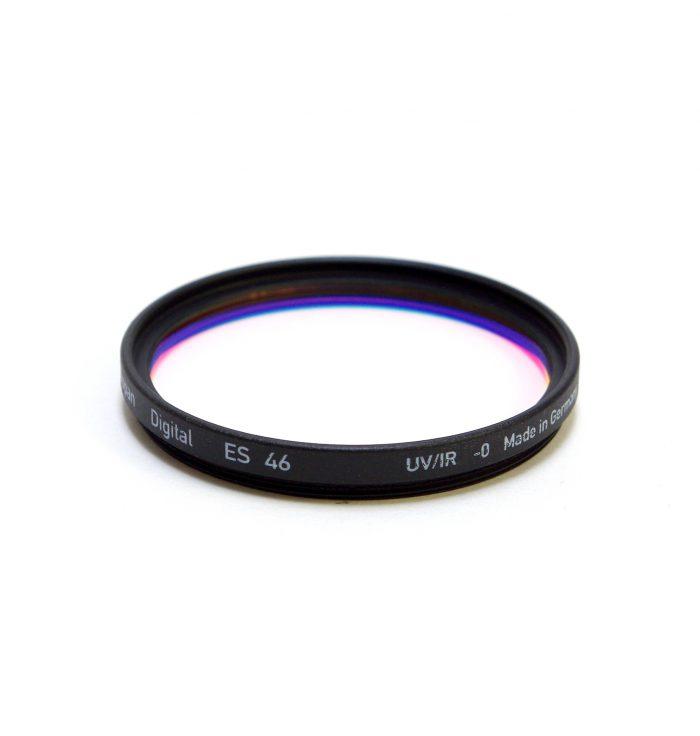 Heliopan digital uv filter for digital cameras, 37-82mm – 46mm
