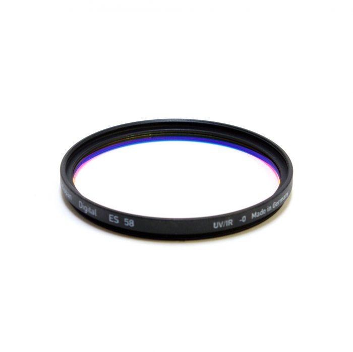 Heliopan digital uv filter for digital cameras, 37-82mm – 58mm