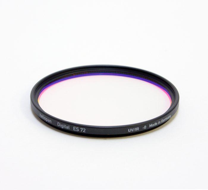 Heliopan digital uv filter for digital cameras, 37-82mm – 72mm