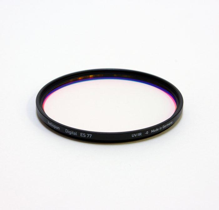 Heliopan digital uv filter for digital cameras, 37-82mm – 77mm