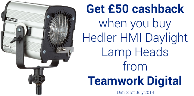Hedler HMI Daylight Lamp Heads Cashback
