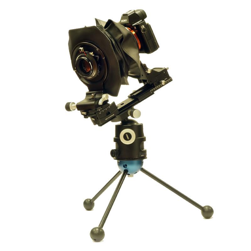 Cambo Actus / Sony A7r / Novoflex / 120mm Schneider Lens
