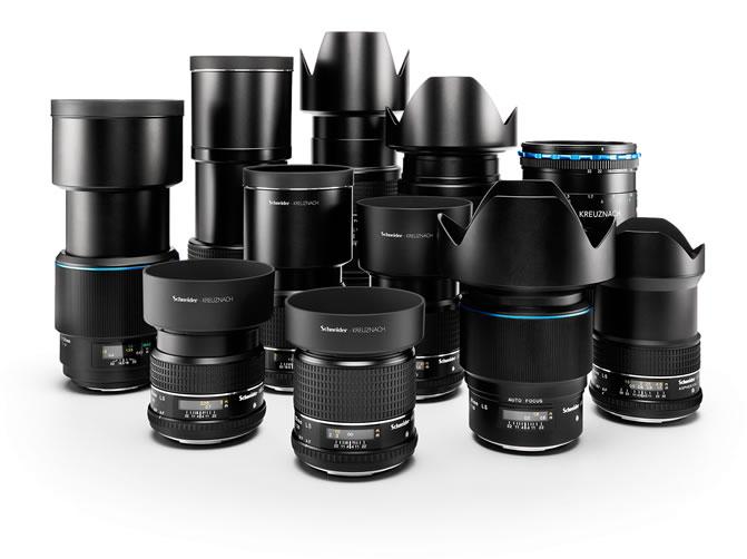 Phase One XF Camera System Lenses