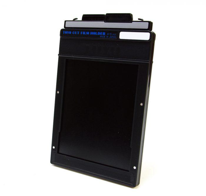 Toyo 4 x 5″ cut film holder (single)