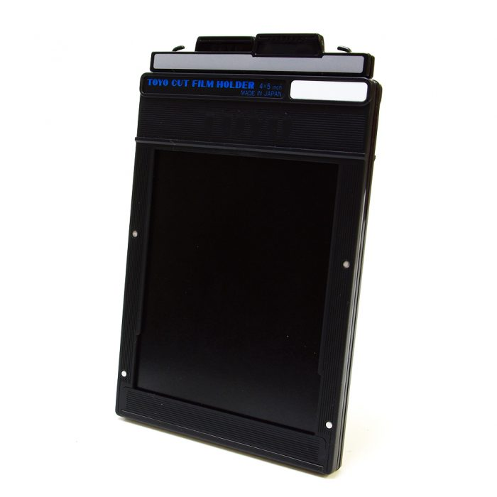 Toyo 4 x 5″ cut film holder (single)