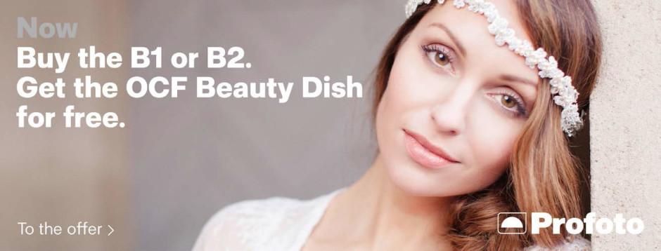 Profoto Off Camera Flash 2ft Beauty Dish
