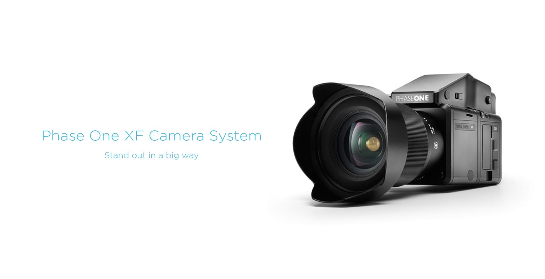 Phase one xf camera system slider