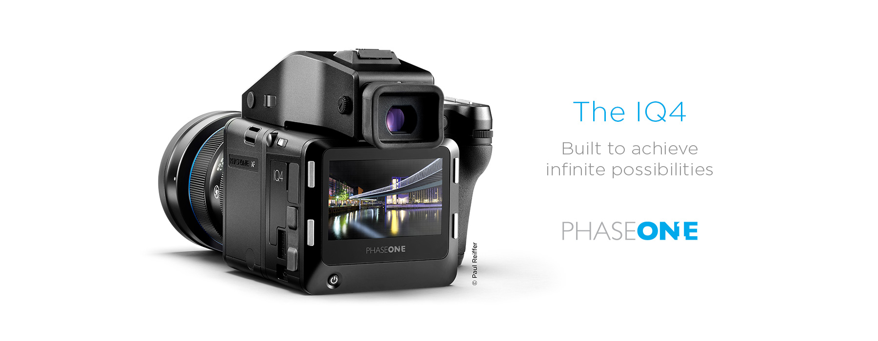 Phase one iq4 camera system banner