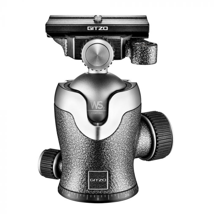 Gitzo centre ball head, quick release, series 3 gh3382qd