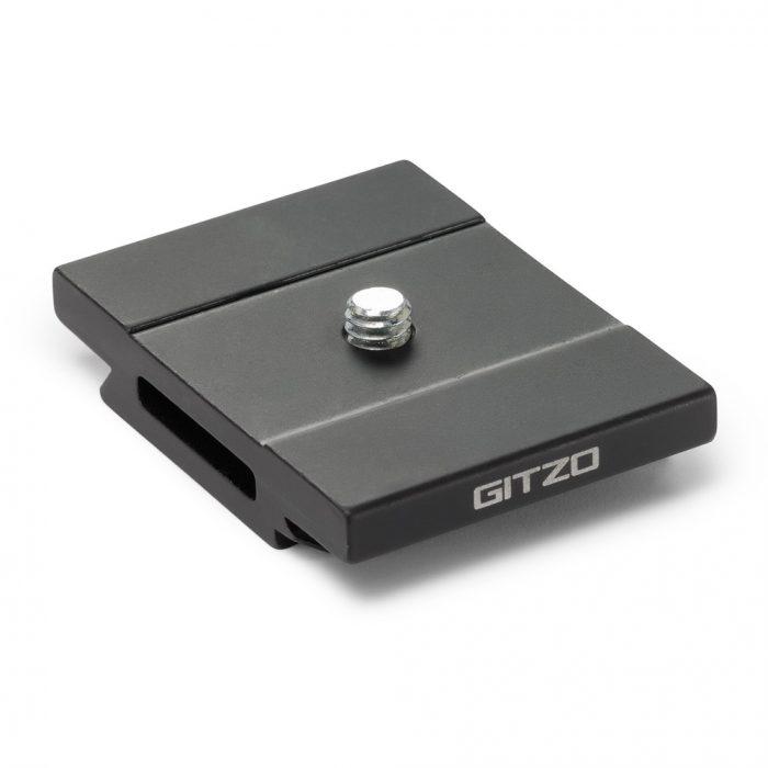 Gitzo quick release plate, aluminum, short d profile – gs5370d