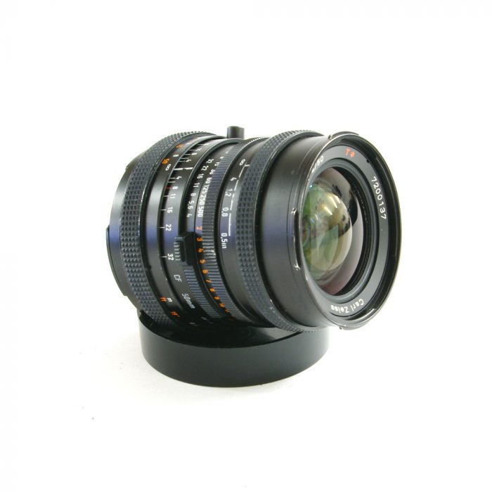 Used hasselblad distagon 50 mm f/4.0 fle cf lens