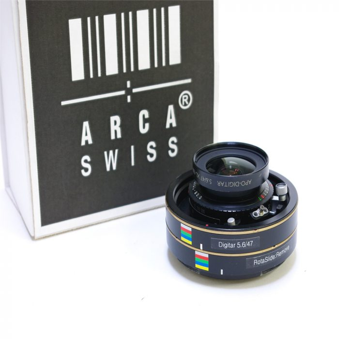 Used arca swiss schneider digitar 47mm f5.6 xl