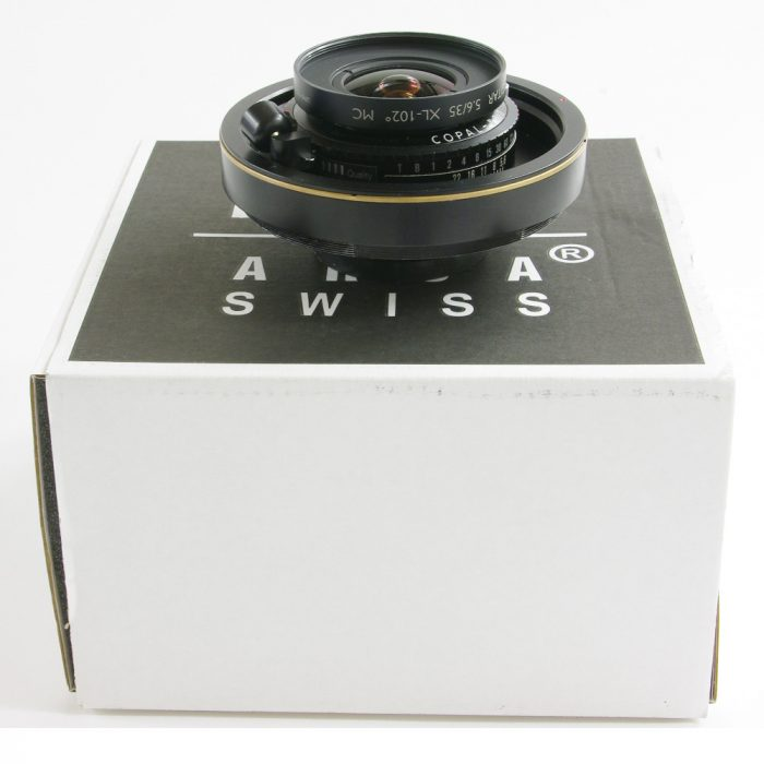 Used arca swiss schneider apo digitar 35mm f5.6xl