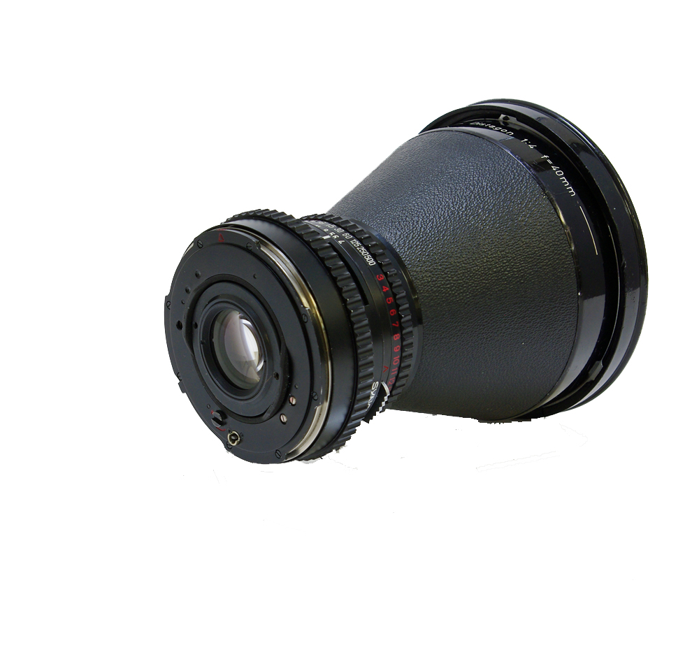 Used hasselblad c distagon 40 mm f/4.0 lens