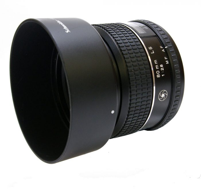 Used phase one schneider 80 mm f/2.8 ls lens